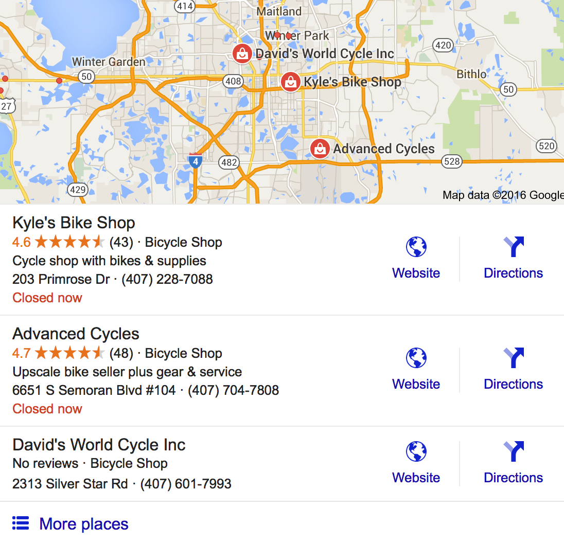 Online reviews make these bicycle rental shops stand out from competition