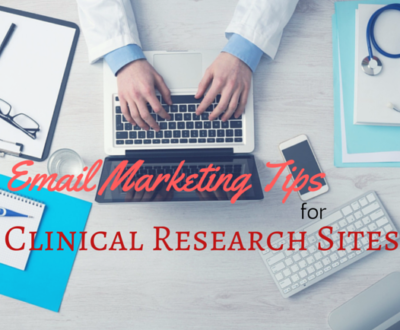 Clinical research coordinator uses email marketing for patient recruitment