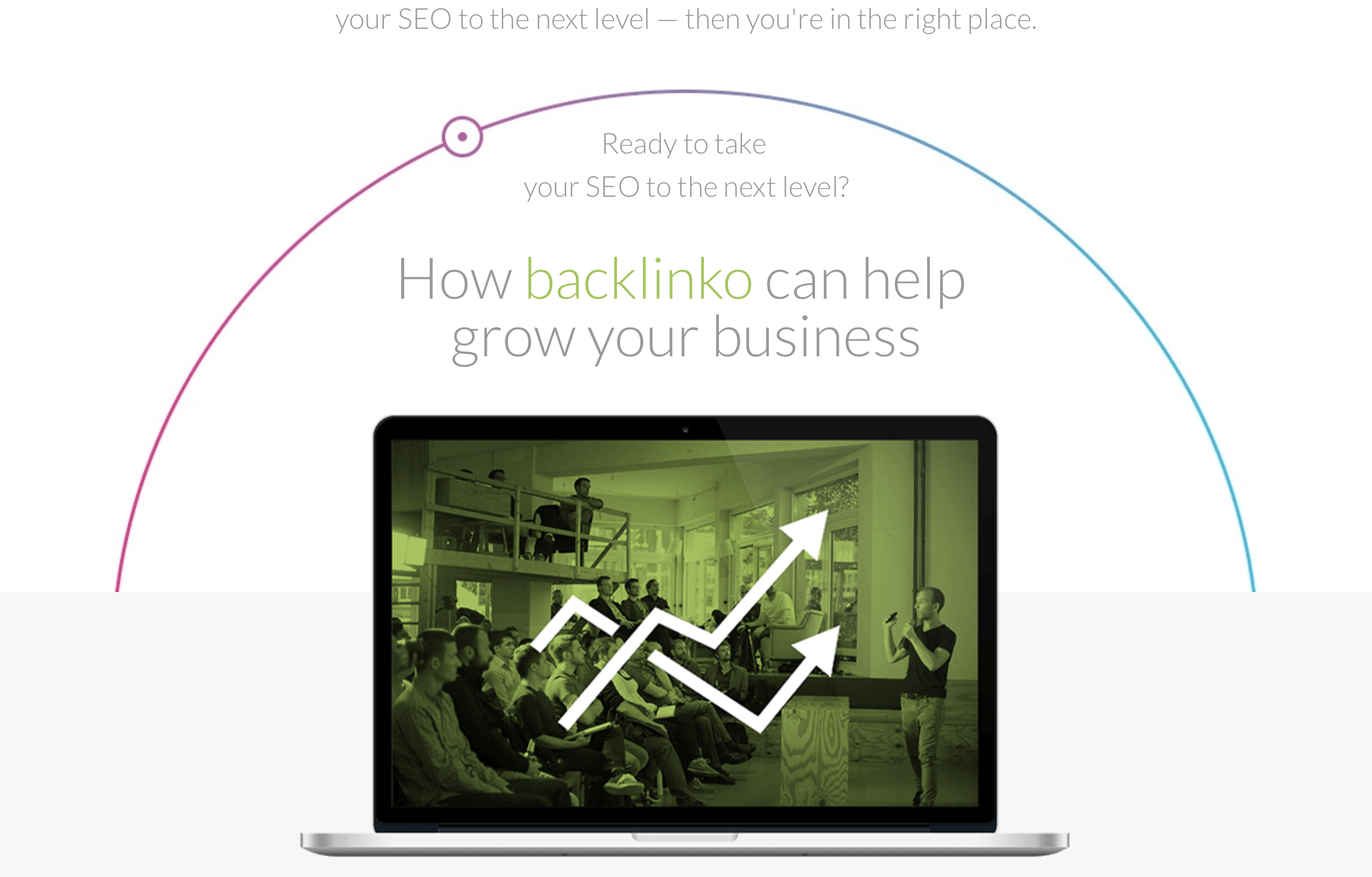 A great about us page from Backlinko